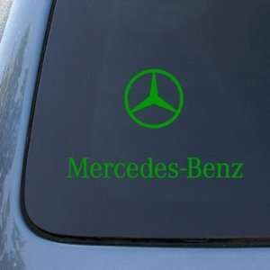 MERCEDES BENZ   Vinyl Car Decal Sticker #1809  Vinyl Color Green