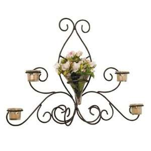 Luca Bella Home Olivia Wrought Iron Sconce