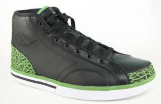 NIKE JORDAN PHLY LEGEND Mens Air Black Green Basketball Shoes Size 10