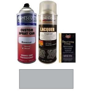 Oz. Bright Silver Metallic Spray Can Paint Kit for 2003 Saturn Ion