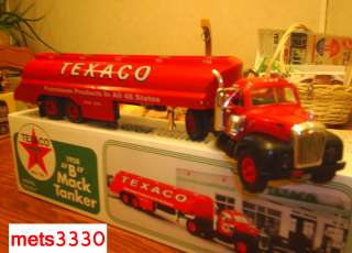 TEXACO B MACK TOY TANKER TRUCK 1958 COIN BANK JMT REPLICAS MARX UNIQUE