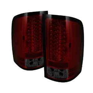 Spyder Auto ALT YD GS07 LED RS GMC Sierra 1500/2500HD Red