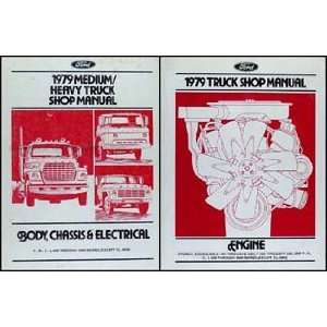 1979 Ford Medium & Heavy Truck Repair Shop Manual 2 Volume