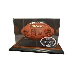 San Francisco 49ers Football Display Case with Classic