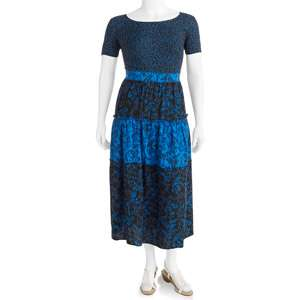 George Womens Plus Size Tiered Challis Dress Womens