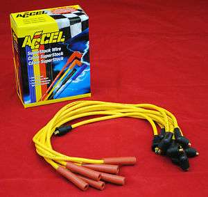 ACCEL 8mm Spark Plug Wires Ford 351C 351M 400