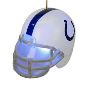 Pack of 2 NFL Indianapolis Colts Light Up Football Helmet