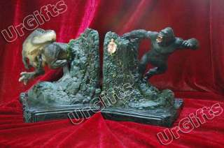King Kong vs V Rex Rex a Pair Bookends Figure Model NIB