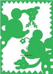 CUTTLEBUG Provo Craft DISNEY A2 MISTLETOE MICKEY MINNIE