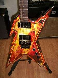Dean Dimebag Darrell Razorback Explosion Electric Guitar with Case