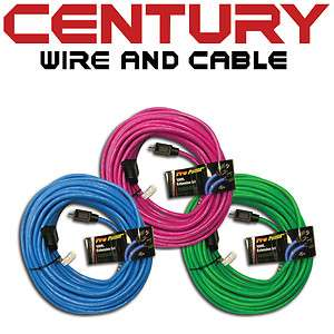 Century Wire 100 SJTW Pro Power Cord, 12/3AWG