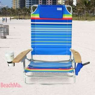 Rio Brands Big Kahuna Folding Beach Chair   Extra Wide & Tall at