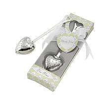 Baby Aspen Tea Time Heart Tea Infuser in Tea Time Gift Box   Baby