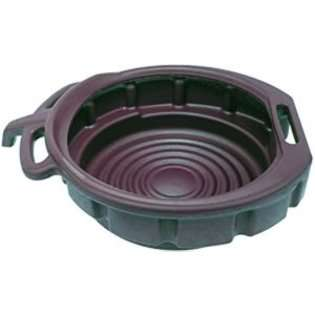 Lumax LX 1631 Green 3.75 Gallon Plastic Oil Drain Pan