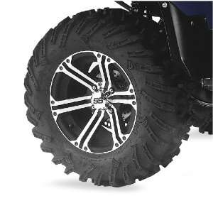 ITP 27x9R 14 Mud Lite XTR, Machined/Black SS212, Tire/Wheel Kit 43174