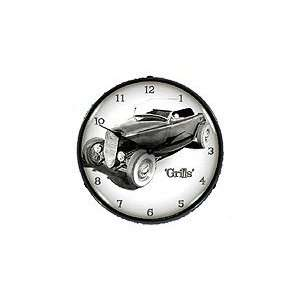 Hot Rod Grills Lighted Clock   Review