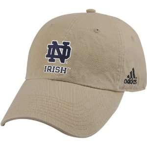 Adidas Notre Dame Fighting Irish Khaki Achiever Hat