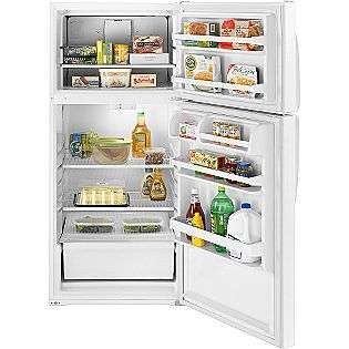 Freezer Refrigerator  Whirlpool Appliances Refrigerators Top Freezer
