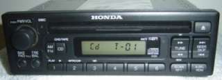 HONDA Odyssey Accord Civic CRV CR V Radio Stereo CD Player 1XU0