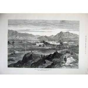 1879 Afghan War Jellalabad PiperS Hill Mountains Art