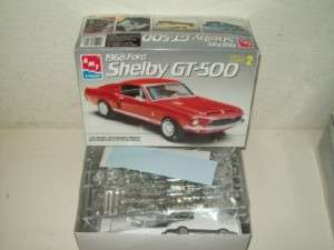 AMT 1968 FORD SHELBY GT 500 CAR MODEL KIT