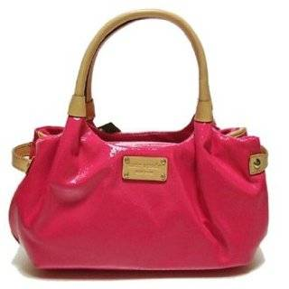 Kate Spade Small Meribel Patent Stevie Handbag Bag Purse Hot Pink