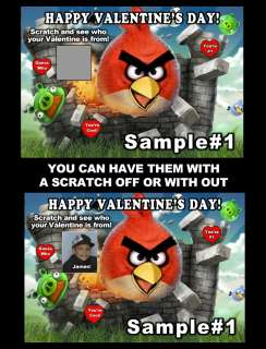 ANGRY BIRDS VALENTINES DAY CARDS *DISCOUNTS AVALIABLE WITH FREE