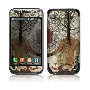 Natural Woman Decorative Skin Cover Decal Sticker for Samsung Vibrant