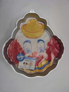 Wilton Happy Clown, Girl and Nurse Birthday Cake Pan #2105 802 with
