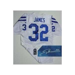 Edgerrin James Indianapolis Colts Authentic NFL Puma White