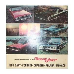 1968 DODGE POLARA Sales Brochure Literature Book