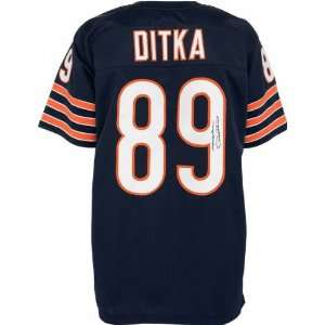 Mike Ditka Autographed Jersey  Details Navy, Custom
