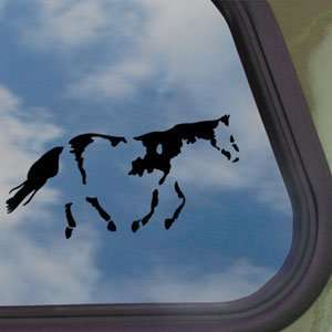 Paint Horse Black Decal Car Truck Bumper Window Sticker