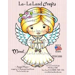 La Land Crafts Cling Rubber Stamp, Angel Marci Arts, Crafts & Sewing