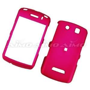 BLACKBERRY THUNDER 9500 AND STORM 9530 HOT PINK RUBBER