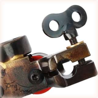 and high quality Handmade 10 Wrap Coils Tattoo Machine Shader Gun USA