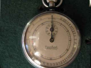 RARE GERMAN WWII HANHART TELEMETER STOP WATCH IN MWB