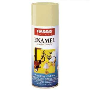 Harris 11 oz. Gloss Enamel Beige Spray Paint 38090