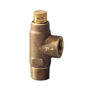 Watts 3/4 in. Brass Pressure Relief Valve 530C