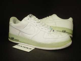 2005 Nike Air Force 1 WHITE OBSIDIAN ICE CUBE BLUE 13
