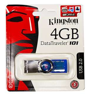 Kingston 4 GB USB Flash Drive Store & Move Files 4G 4GB