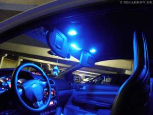 SMD LED Innenraumbeleuchtung Blau Seat Leon 1P