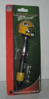 NFL GREEN BAY PACKERS PROGRAMMABLE LIGHT UP PEN NEW