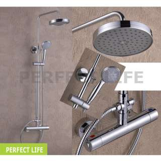 nice Luxury Wall Mounted Rain Shower Faucet Set jn5023