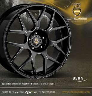 18 CADES BERN ACCENT 4 alloy wheels for vw polo 5 stud