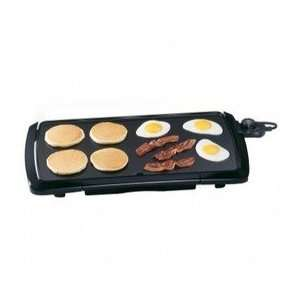 20 Inch Cool Touch Electric Griddle (Black   Low Profile)   Presto