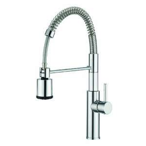 Aquabrass 3320NPC Polished Chrome Single Handle Kitchen Faucet