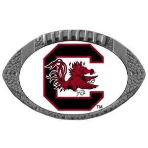 Set of 2 South Carolina Gamecocks Football One Inch Pin