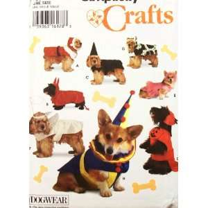 OOP Simplicity Craft Pattern 9257. Dog Costumes. Suitable