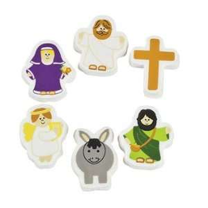Religious Character Erasers   Basic School Supplies & Erasers